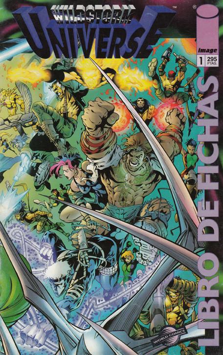 Wildstorm Universe, Libro de Fichas
