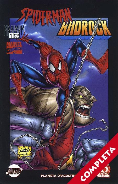 Spider-Man / Badrock Vol.1 - Completa