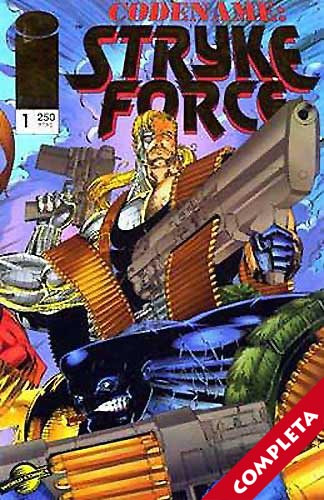 Codename: Stryke Force Vol.1 - Completa