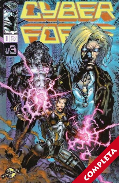Cyberforce Vol.3 - Completa