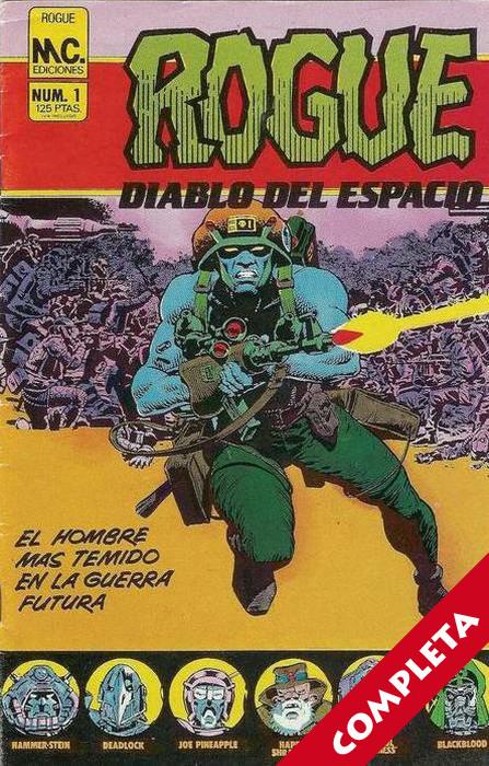 Rogue / Rogue Trooper Vol.1 - Completa