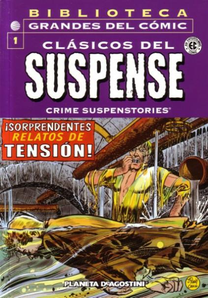 Biblioteca Grandes del Cómic: Clásicos del Suspense Vol.1 nº 1