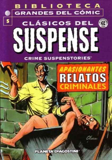 Biblioteca Grandes del Cómic: Clásicos del Suspense Vol.1 nº 5