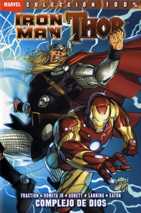100% Marvel. Iron Man / Thor: Complejo de dios