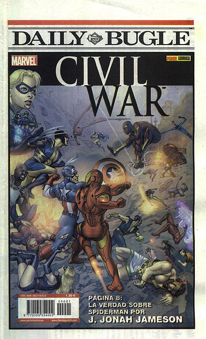 Civil War: Daily Bugle Especial