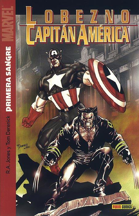 Lobezno / Capitán América: Primera Sangre