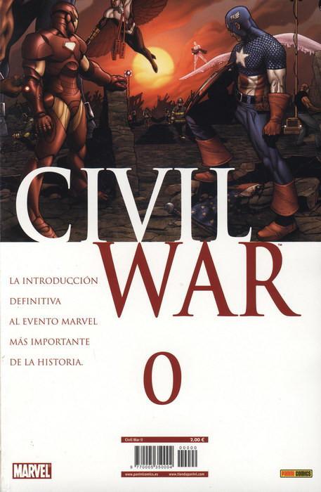 Civil War Vol.1 nº 0