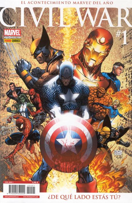 Civil War Vol.1 nº 1