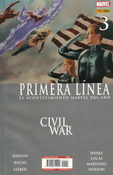 Civil War: Primera Línea Vol.1 nº 3