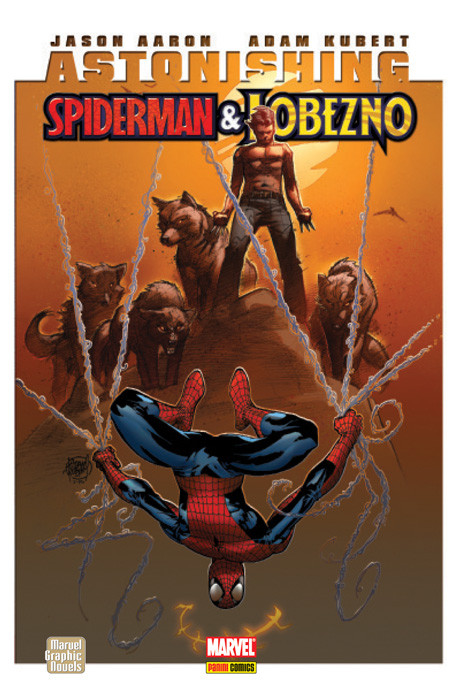 Marvel Graphic Novels. Astonishing Spiderman & Lobezno
