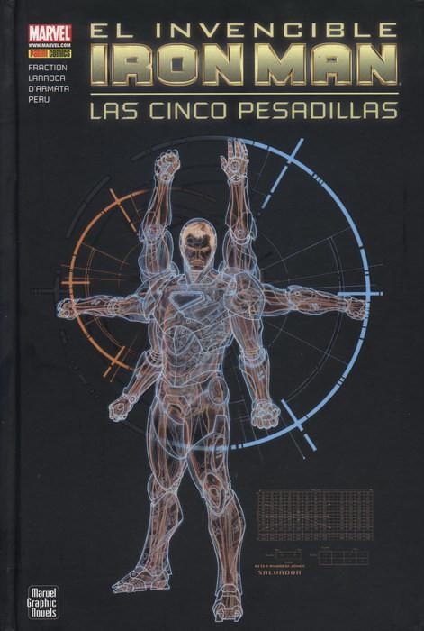 Marvel Graphic Novels. Iron Man: Las cinco pesadillas