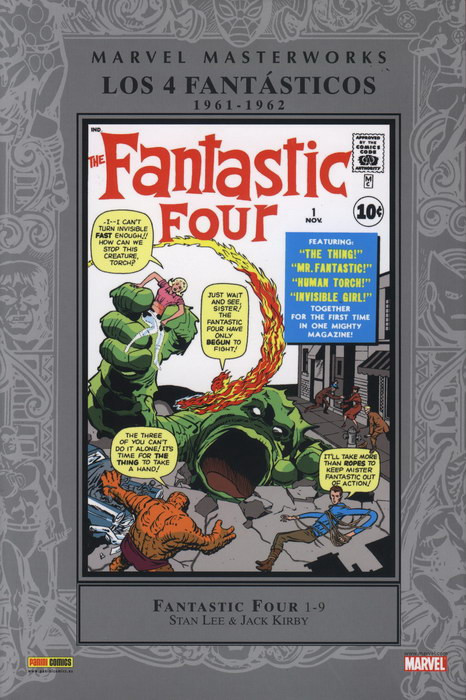 Marvel Masterworks. Los 4 Fantásticos nº 1 (1961-1962)