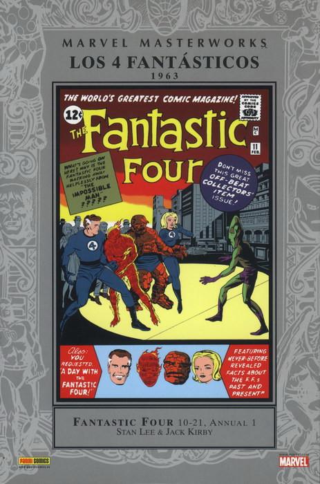 Marvel Masterworks. Los 4 Fantásticos nº 2 (1963)