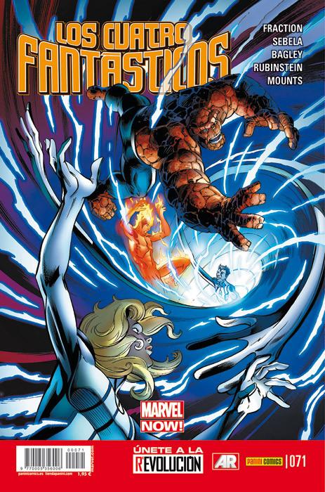 Los Cuatro Fantásticos Vol.7 nº 71