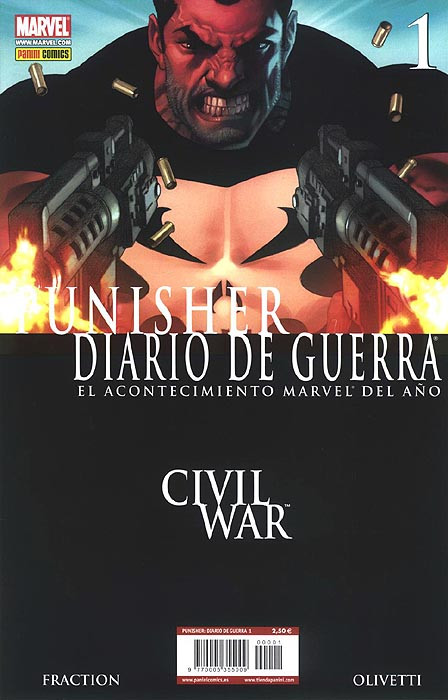 Punisher: Diario de Guerra Vol.1 nº 1