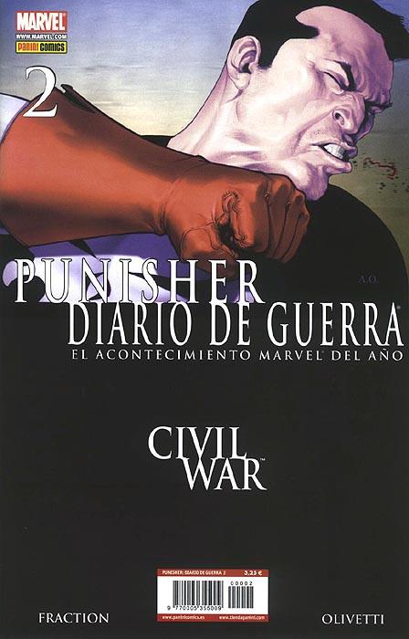 Punisher: Diario de Guerra Vol.1 nº 2