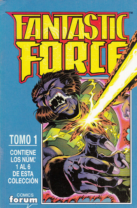 Fantastic Force Vol.1 Tomo Obra Completa