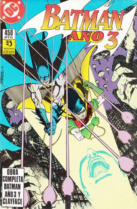 Batman Año 3 y el Enigma Clayface completas