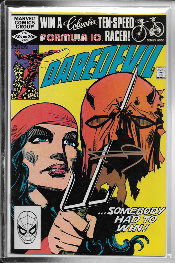 Daredevil #179 - Firmado / Signed