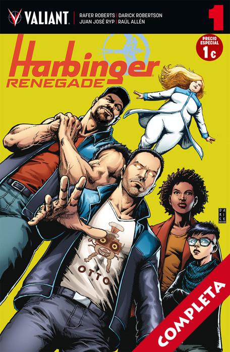 Harbinger Renegade Vol.1 - Completa -