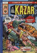 Ka-Zar: Rey de la Jungla Escondida Vol.1 nº 3