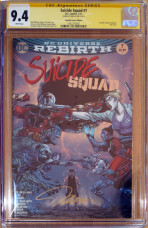 Suicide Squad #7 - Foil Cover - Firmado Jim Lee
