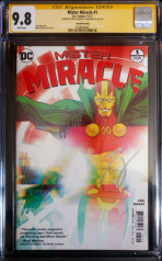 Mister Miracle #1 - Second Print - Firmado GERADS & KING