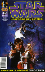 Star Wars. Heredero del Imperio nº 3