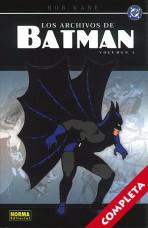 Los Archivos de Batman Vol.1 - Completa -