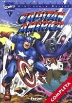 Biblioteca Marvel: Capitán América Vol.1 - Completa -
