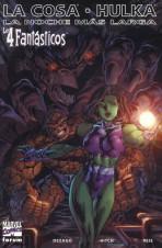 Los 4 Fantásticos: La Cosa / Hulka - La noche más larga