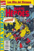Marvel Héroes Vol.1 - Extra Verano '93