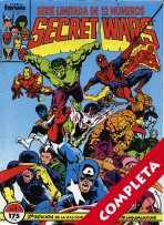 Secret Wars - 2ª Edición - Vol.1 - Completa -