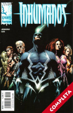 Marvel Knights: Inhumanos Vol.1 - Completa -