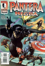 Marvel Knights: Pantera Negra Vol.1 nº 8