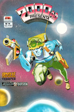 2000 AD Presenta Vol.1 nº 14 - Rogue Trooper, Anderson PSI Division