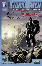 Stormwatch. Post Earth Division. World's End Vol.1 nº 4