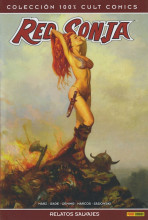 100% Cult Comics. Red Sonja. Relatos Salvajes