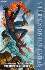 100% Marvel. Spiderman / Los 4 Fantásticos: Valores familiares