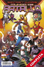 Secret Wars. Mundo de Batalla Vol.1 - Completa -