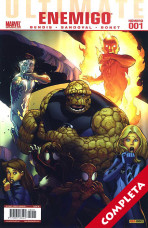 Ultimate Comics: Enemigo Vol.1 - Completa -