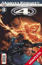 Marvel Knights: 4 Vol.1 - Completa -