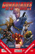 Guardianes de la Galaxia Vol.2 - v3 USA completo BENDIS -