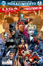 Liga de la Justicia contra Escuadrón Suicida Vol.1 nº 1