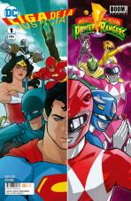 Liga de la Justicia / Power Rangers Vol.1 nº 1