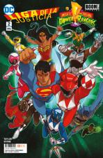 Liga de la Justicia / Power Rangers Vol.1 nº 2