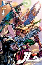JLA: Liga de la Justicia de América Vol.1 nº 1