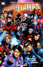 Titanes / Legión de Superhéroes: Universo en Llamas