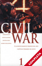 Civil War (Ed. Especial) Vol.1 - Completa -