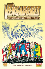 Marvel Graphic Novels. Los Vengadores: Emperador Muerte